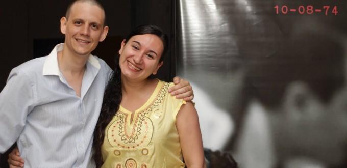 Mauro Pérez y Mariana Britos