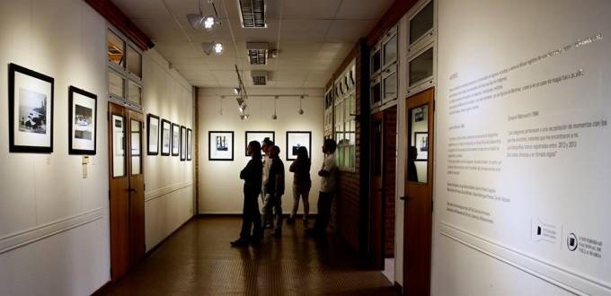 Fotogalería en la entrada del ala de Diseño