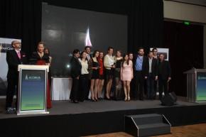 Gritos de Ciudad en la entrega de premios