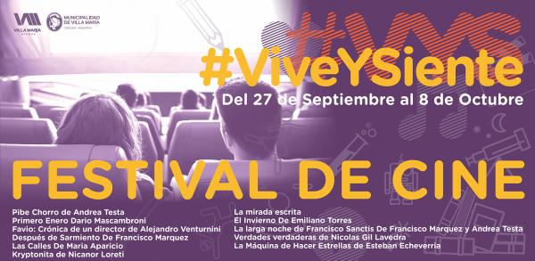 Festival de cine_Vive y siente